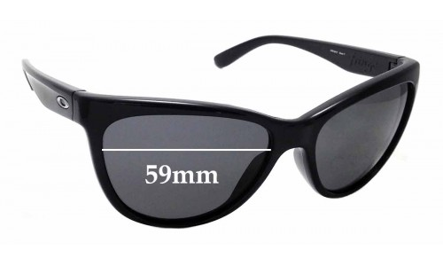 Sunglass Fix Replacement Lenses for Oakley Fringe OO9124 - 59mm Wide