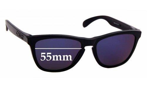 Sunglass Fix Replacement Lenses for Oakley Frogskins Gen. 3 - 55mm Wide