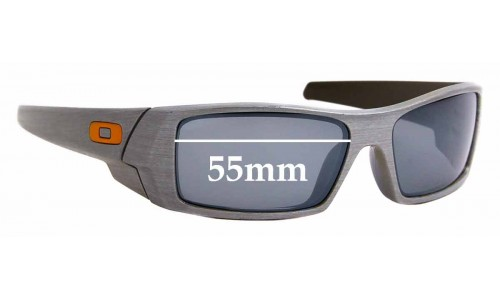 Sunglass Fix Replacement Lenses for Oakley Gascan - 55mm Wide