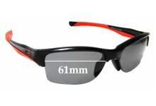 Sunglass Fix Replacement Lenses for Oakley Halflink OO9251 - 61mm Wide