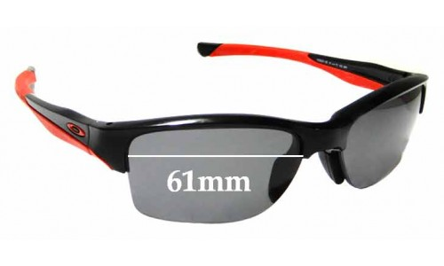 Sunglass Fix Replacement Lenses for Oakley Halflink OO9251 - 61mm Wide