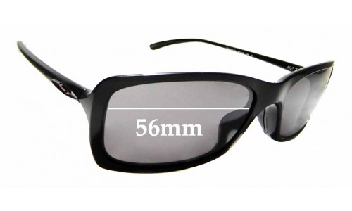 Sunglass Fix Replacement Lenses for Oakley Hall Pass OO9203 - 56mm wide