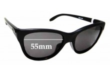 Sunglass Fix Replacement Lenses for Oakley Hold Out OO9357 - 55mm wide
