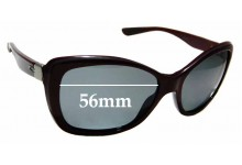 Sunglass Fix Replacement Lenses for Oakley News Flash OO2025- 56mm wide