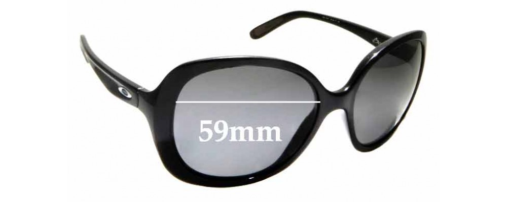 Sunglass Fix Replacement Lenses for Oakley Backhand OO9178 - 59mm wide