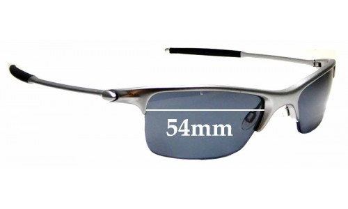 Sunglass Fix Replacement Lenses for Oakley Razrwire - 54mm wide
