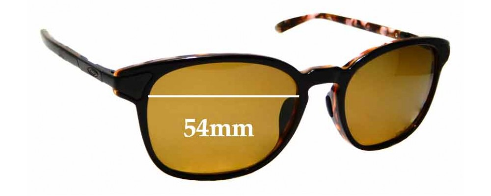 Sunglass Fix Replacement Lenses for Oakley Ringer OO2047- 54mm wide
