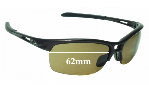 Sunglass Fix Replacement Lenses for Oakley RPM Squared OO9205 - 62mm Wide