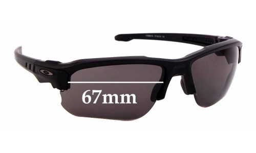 Sunglass Fix Replacement Lenses for Oakley Speed Jacket OO9228 - 67mm wide