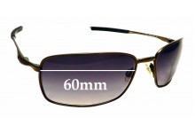 Sunglass Fix Replacement Lenses for Oakley Square Wire OO6016 - 60mm Wide