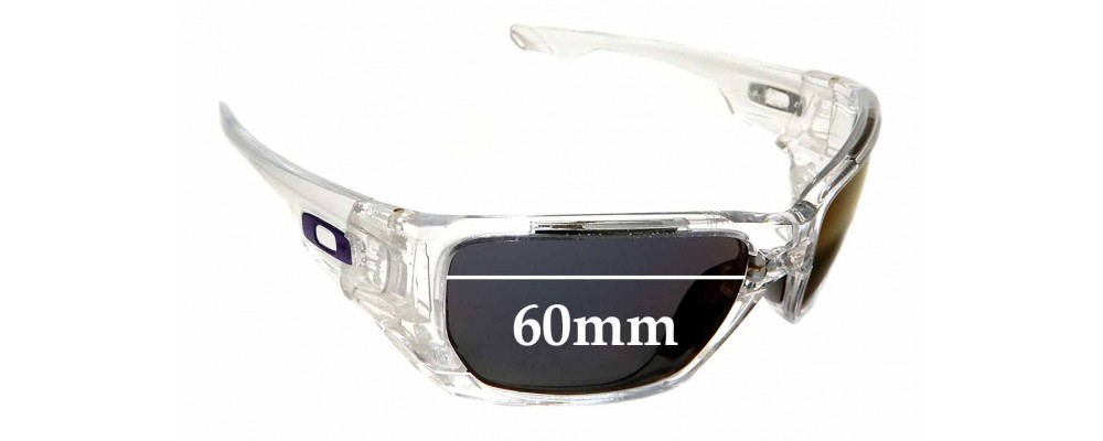 Oakley Style Switch OO9216 Replacement Sunglass Lenses - 60mm wide