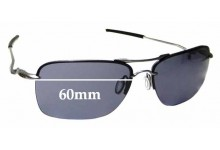 Sunglass Fix Replacement Lenses for Oakley Tailback OO4109 - 60mm wide