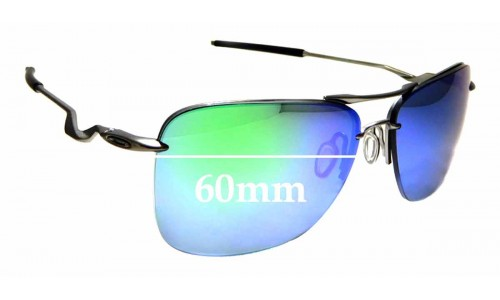 Sunglass Fix Replacement Lenses for Oakley Tailhook OO4087 - 60mm wide