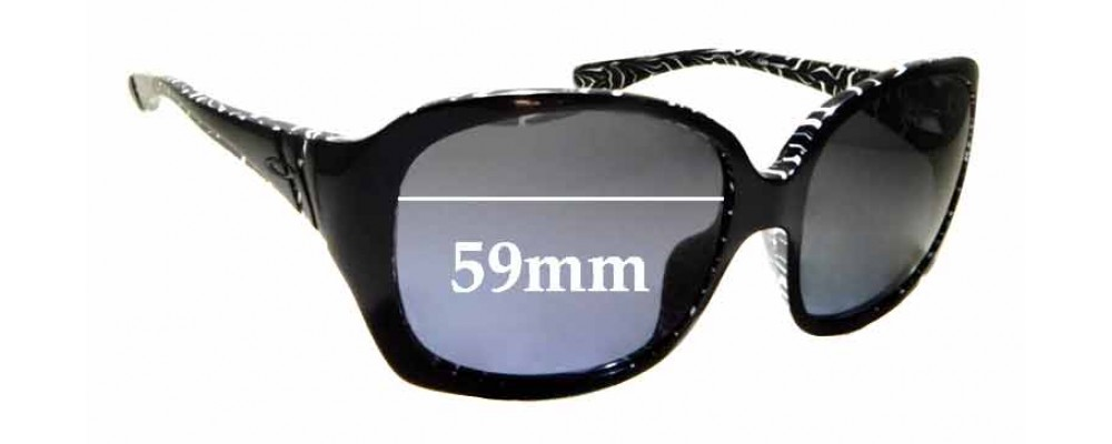 Sunglass Fix Replacement Lenses for Oakley Unfaithful OO2029 - 59mm wide