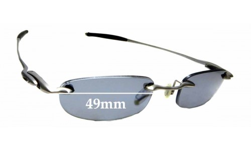 Sunglass Fix Replacement Lenses for Oakley Why 4 - 49mm Wide