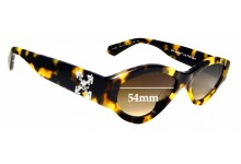 Sunglass Fix Replacement Lenses for Off White HU4002 - 54 mm wide