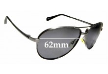 Sunglass Fix Replacement Lenses for Oliver Peoples Copter OV1120ST - 62mm wide