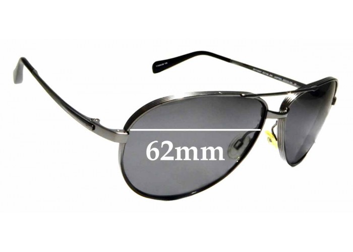 50mm Fuse Lenses Polarized Replacement Lenses for Oliver Peoples NDG-1