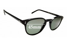 Sunglass Fix Replacement Lenses for Oliver Peoples Fairmont OV5219 - 45mm wide