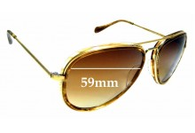 Sunglass Fix Replacement Lenses for Oliver Peoples Rayford OV1113S - 59mm wide