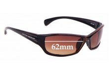 Sunglass Fix Replacement Lenses for Optic Nerve Stonefly - 62mm
