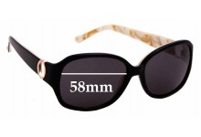 Sunglass Fix New Replacement Lenses for Oroton Dayna - 58mm Wide