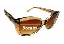 Sunglass Fix New Replacement Lenses for Oroton Dynasty - 56mm Wide