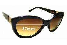 Sunglass Fix New Replacement Lenses for Oroton Dynasty - 57mm Wide