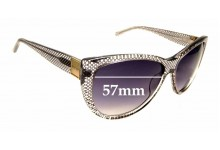Sunglass Fix New Replacement Lenses for Oroton Empress - 57mm Wide