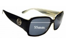 Sunglass Fix New Replacement Lenses for Oroton Eterna - 55mm Wide