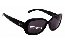 Sunglass Fix New Replacement Lenses for Oroton Journey - 57mm Wide