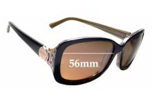 Sunglass Fix New Replacement Lenses for Oroton Manzanillo - 56mm Wide