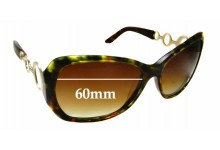 Sunglass Fix Replacement Lenses for Oroton Seashore - 60mm Wide