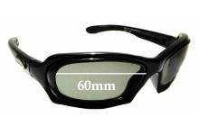 Sunglass Fix Replacement Lenses for Osiris Sun 2 - 60mm wide