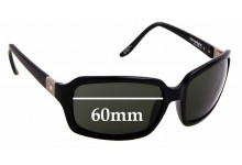 Sunglass Fix Replacement Lenses for Otis Limelight - 60mm wide