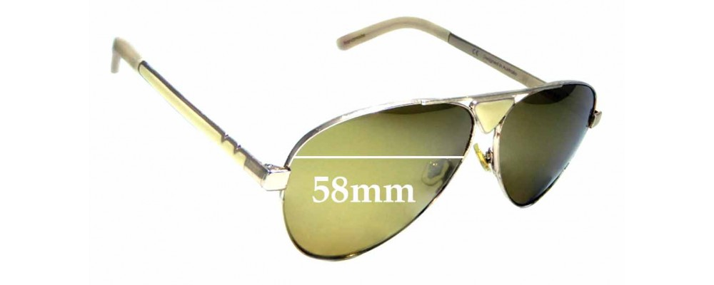 Sunglass Fix Replacement Lenses for Pared Funk & Soul - 58mm wide
