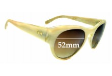 Sunglass Fix New Replacement Lenses for Paul Smith Develay PM8086-S - 52mm Wide