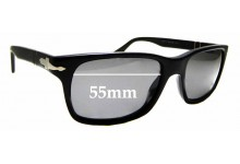 Sunglass Fix Replacement Lenses for Persol 3048S - 55mm wide *Please measure as there are variations*