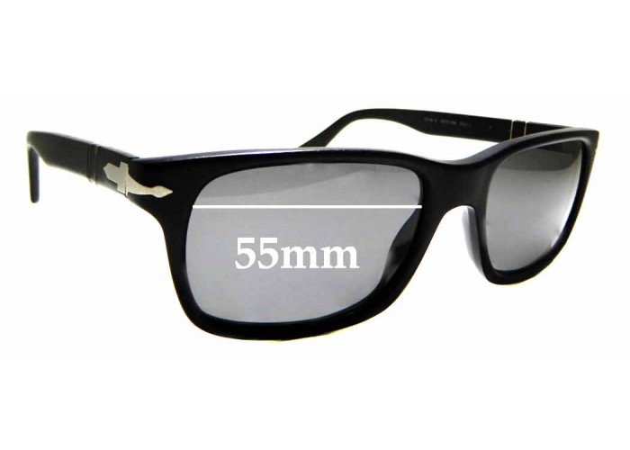 58mm Fuse Lenses Polarized Replacement Lenses for Persol 2224-S