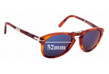 Sunglass Fix Replacement Lenses for Persol Steve McQueen 714SM - 52mm wide