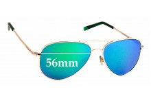 Sunglass Fix Replacement Lenses for Polaroid 6012/N - 56mm wide
