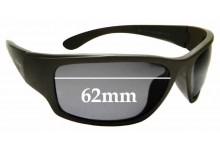 Sunglass Fix Replacement Lenses for Polaroid PLD 7005/S - 62mm wide