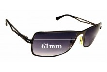 SFX Replacement Sunglass Lenses fits Police S8292 63mm64mm Wide Lens
