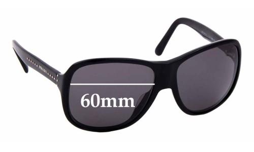Sunglass Fix Replacement Lenses for Prada SPR01M - 60mm wide
