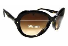 Sunglass Fix Replacement Lenses for Prada SPR 09O - 59mm wide