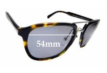 Sunglass Fix Replacement Lenses for Prada SPR 12T - 54mm Wide
