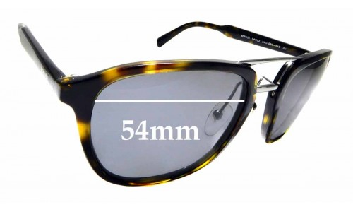 Sunglass Fix Replacement Lenses for Prada SPR 12T - 54mm Wide