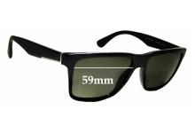 Sunglass Fix Replacement Lenses for Prada SPR 19S - 59mm wide