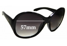 Sunglass Fix Replacement Lenses for Prada SPR 20L - 57mm wide