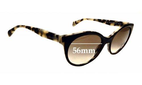 Sunglass Fix Replacement Lenses for Prada SPR 230 - 56mm Wide